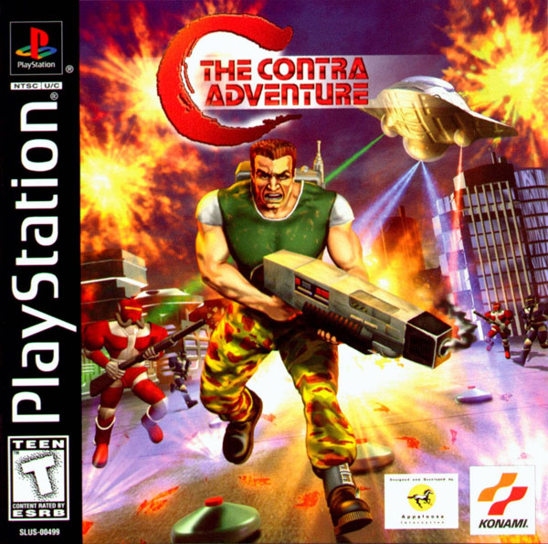 C - The Contra Adventure [U] Front Cover
